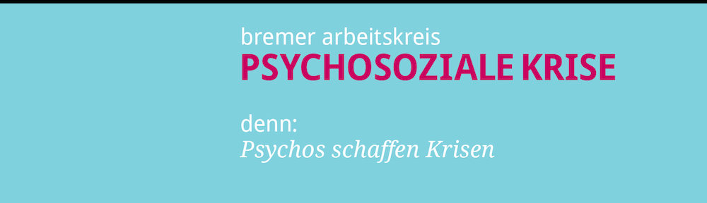 arbeitskreis psychosoziale krise